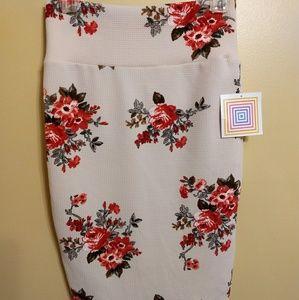 Lularoe cassie stretch pencil skirt sz XS NWT